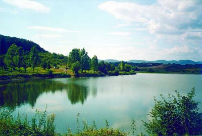 Fishing lake and holiday spot – a mere 300 m from the centre of Bogács