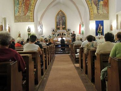 The church is often a venue for concerts